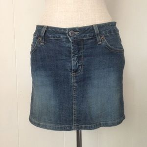 Goodtime Skirts - Fleurdelis Embellished Mini Skirt